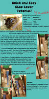 Quick and Easy Cosplay Boot Cover Tutorial by Kimba616