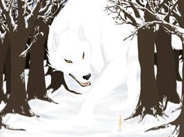 The Winter Wolf by Der-Fuchsprophet