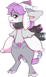 [REDESIGN] - bunny bellflower - by fayfia