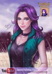 Abigail from Stardew Valley by pakkiedavie