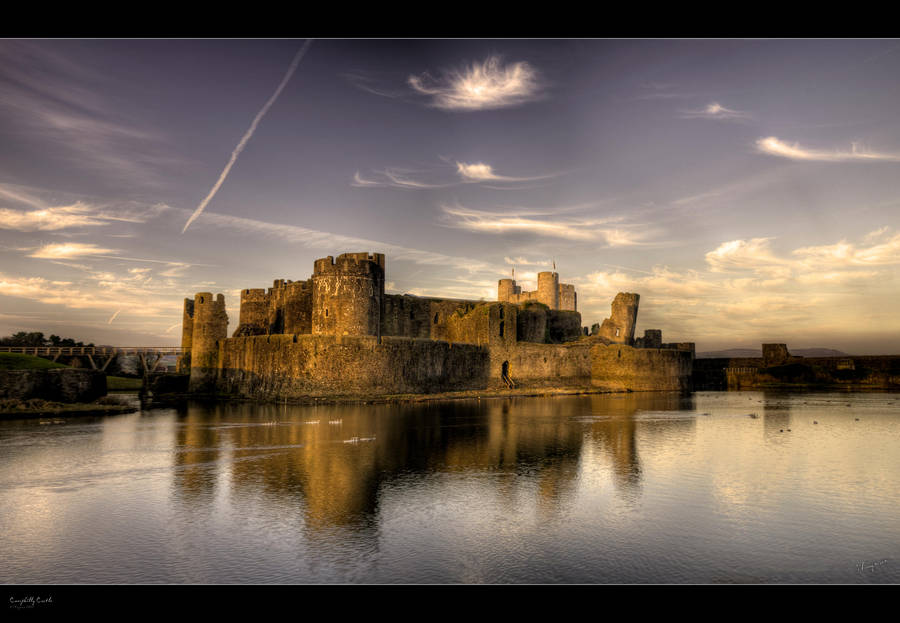 Caerphilly Castle - HDRi - Pano by Wayman