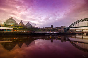 The Tyne by Wayman