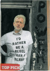 REBEL CORBYN by yabanji