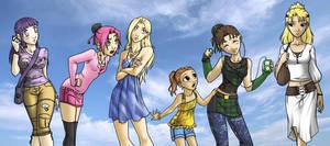 Naruto Girls by TGP