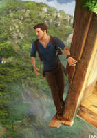 Uncharted 4: A Thief's End by WretchedIAN