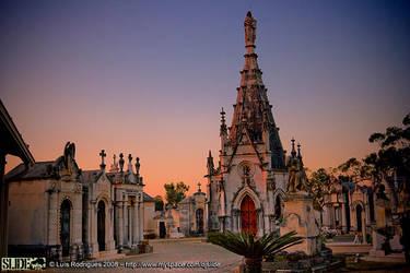 Cemetery of Conchada by DjSlide