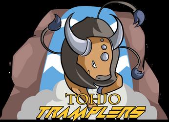 Tohjo Tramplers Logo by 13ulbasaur