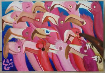fifteen shades of pink by LeonardGreenland