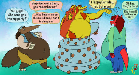 my 27th birthday! by LeonardGreenland