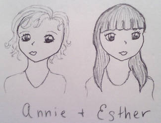 Annie and Esther by wildcannabis