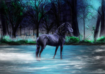 Kelpie by Mely-Val