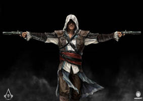 Assassins Creed 4 fan art by Mely-Val