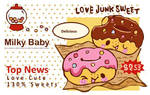 Junk Sweet Donuts by blushing