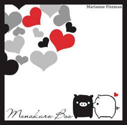Monokuro Boo by blushing