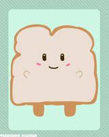 Bread-Chan by blushing