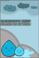 Raindrops keep falling... by blushing