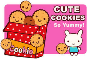 Cute Cookies by blushing