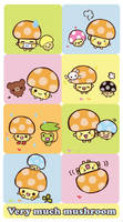 Very Much Mushroom by blushing