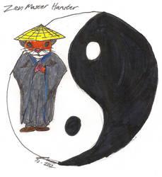 Zen Master Hamster by Coelophysis83