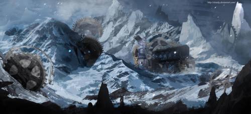 Snowly by Elowly