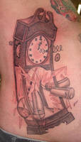 clock tattoo by asussman