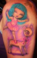 Mark Ryden tattoo by asussman