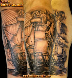 pirate ship 2 by asussman