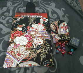 Dice Bag and Book Pouch by prophet1991