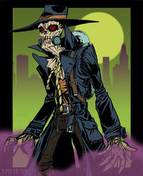 scarecrow by travispitts