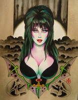 Elvira by NickTheBarbarian