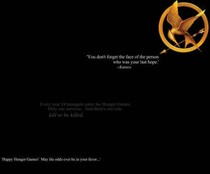 The Hunger Games Wallpaper 1 by SarahBobara