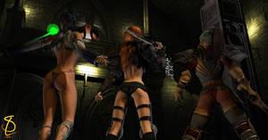 The Warriors Three by SPLStudio