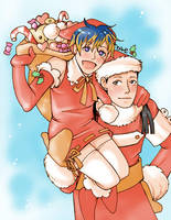 Merry Christmas :D by daevakun