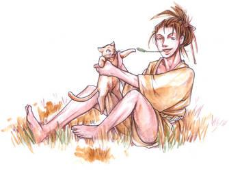 Stray Cat by daevakun