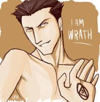 I am what I am - Wrath by daevakun
