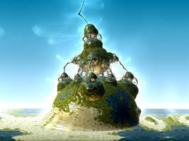 Bulb Island - Happy Birthday, Martina by Sabine62
