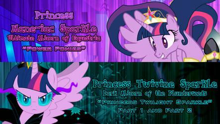 Princess Twilight Sparkle's Evil Forms by DashieMLPFiM