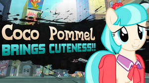 Super Smash Ponies New Challenger: Coco Pommel by DashieMLPFiM