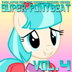 Super Ponybeat Vol. 4 Album Art - Coco Pommel by DashieMLPFiM
