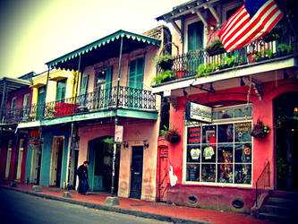 New Orleans French Quarter 1 by serpentesse