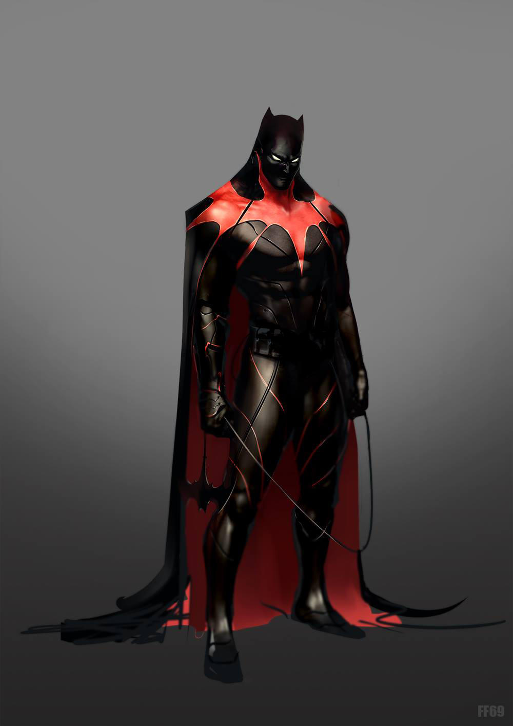Batman concept by FF69