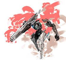 Mecha Sketch by FF69