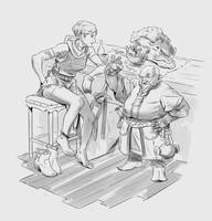 Dungeons and Dragons Fanart by FF69