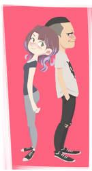 Couple Cartoon by FF69