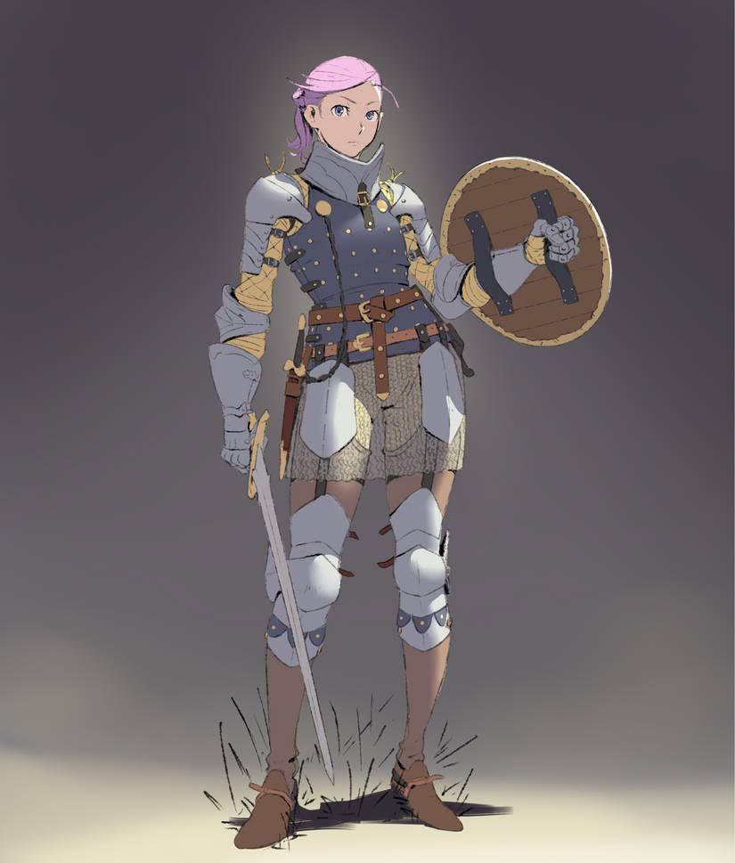 Knight Girl by FF69