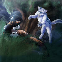 Gathering Fight- Request by Missle-Rox