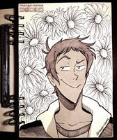 [Inktober] [VLD] Day 2 - Lance by Margo-sama