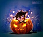 [Inktober] [VLD] Day 12 - Halloween by Margo-sama