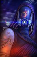 Mass Effect: Tali by IfWereLost