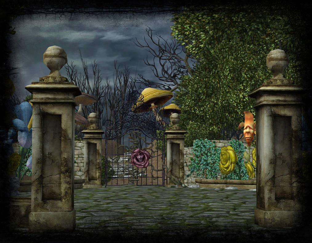 XNALara - Strange Garden (AIW) by deexie